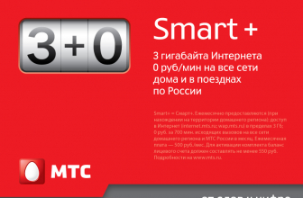 Тариф Смарт МТС — Smart, Smart+, Mini, Top, NonStop